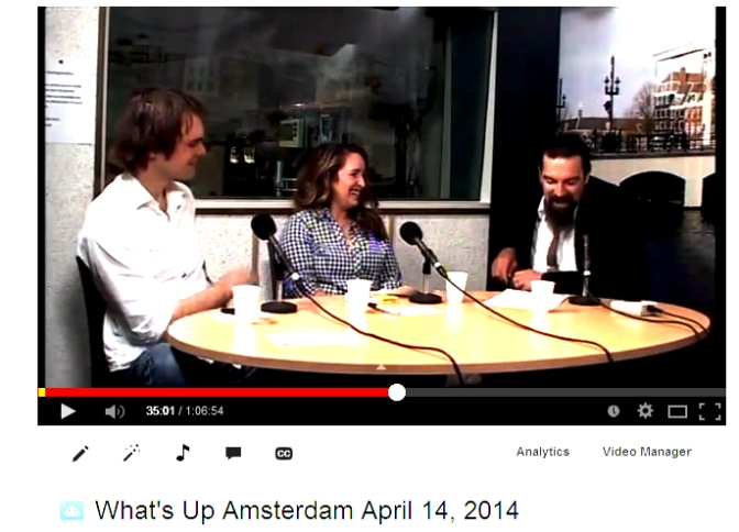 What's Up Amsterdam April 14, 2014