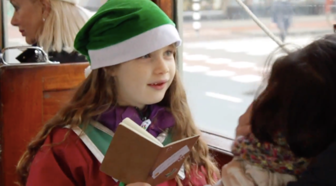 🎁 On the 1st day of Christmas ▶︎ the Santa Tram video